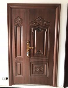 仿铜防盗安全门